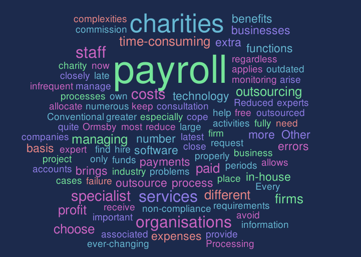 payroll services for charities